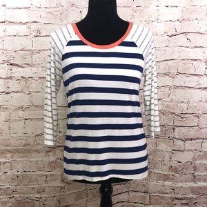 OLIVE + OAK   Ladies M striped top from Stitch Fix